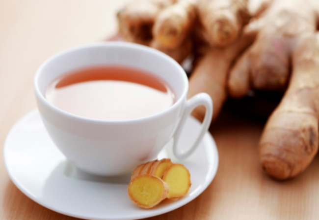 Ginger Tea For Hoarseness