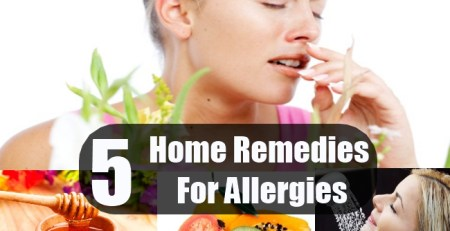 Home Remedies For Allergies