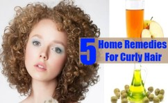 5 Home Remedies For Curly Hair