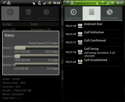 AZQ Android - LTE/WCDMA/GSM DriveTest Tool on Android