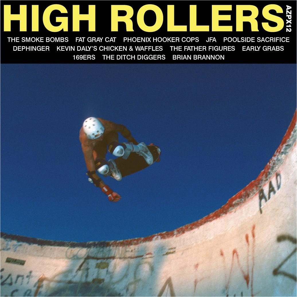 AZPX12: VARIOUS ARTISTS – 'HIGH ROLLERS' 12″ Vinyl