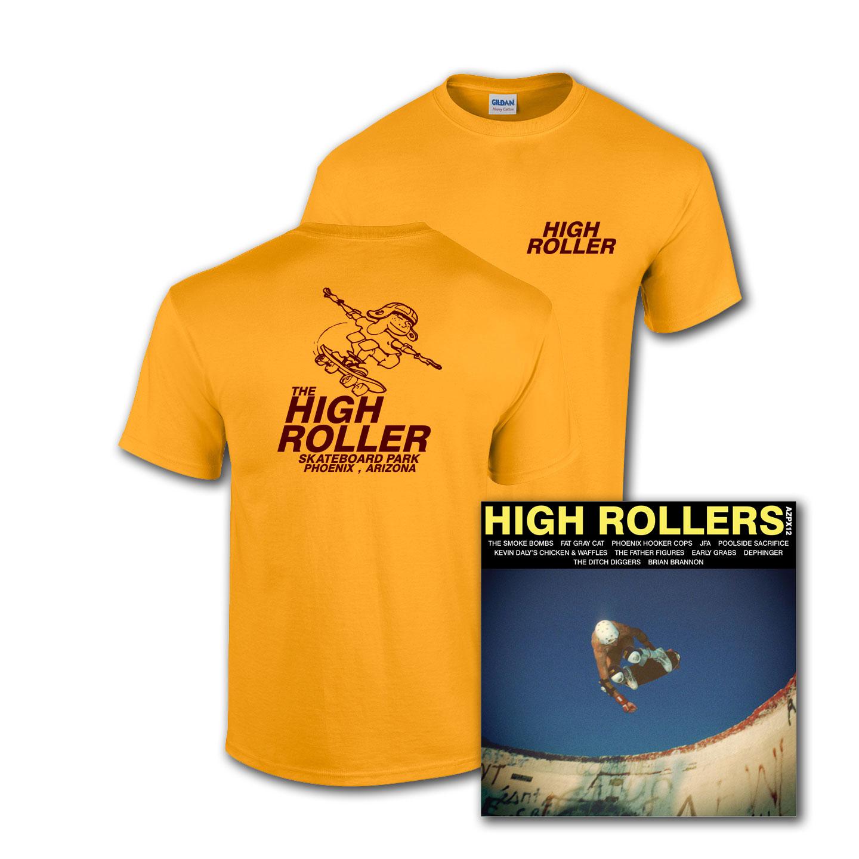 High Roller T-shirt/Record Bundle