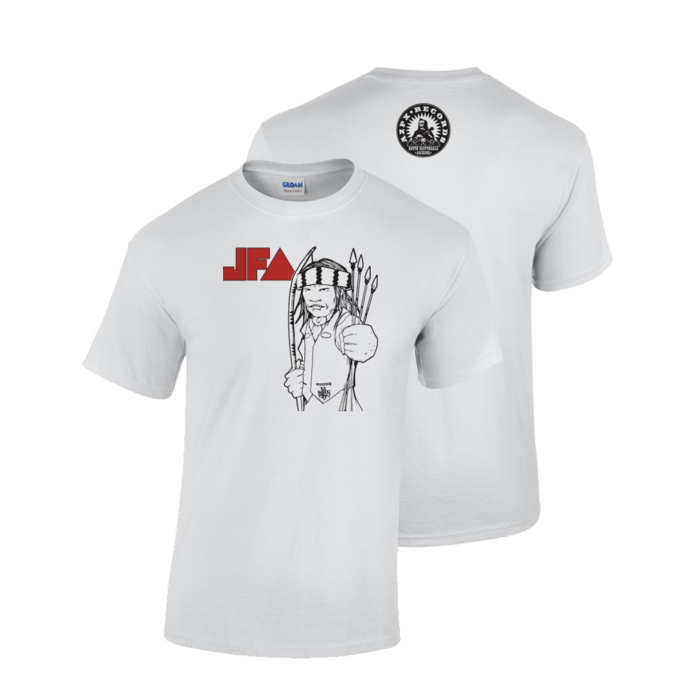 JFA/Apache Skateboards Collab White T-shirt