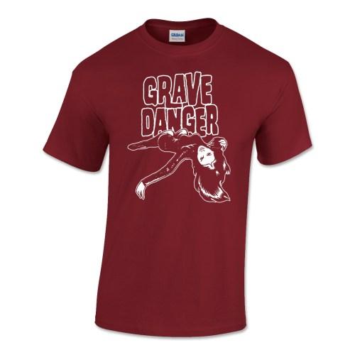 Grave Danger Mens T-shirt Cardinal Red
