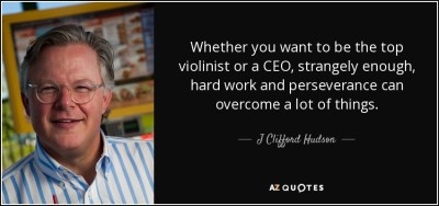QUOTES BY J CLIFFORD HUDSON | A-Z Quotes