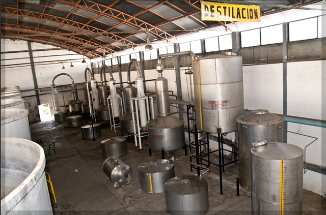 Distillation 2 times distilled. Pot still distillation. Heads and tails removed