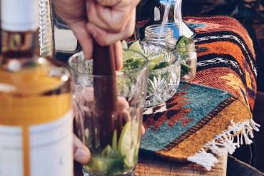 Azunia Tequila Cocktails get Muddled