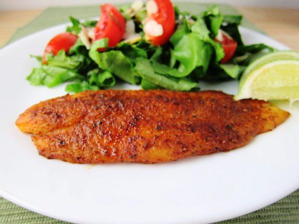 Swai bake with white wine lemon garlic sauce the dinner for Swai fish fillet