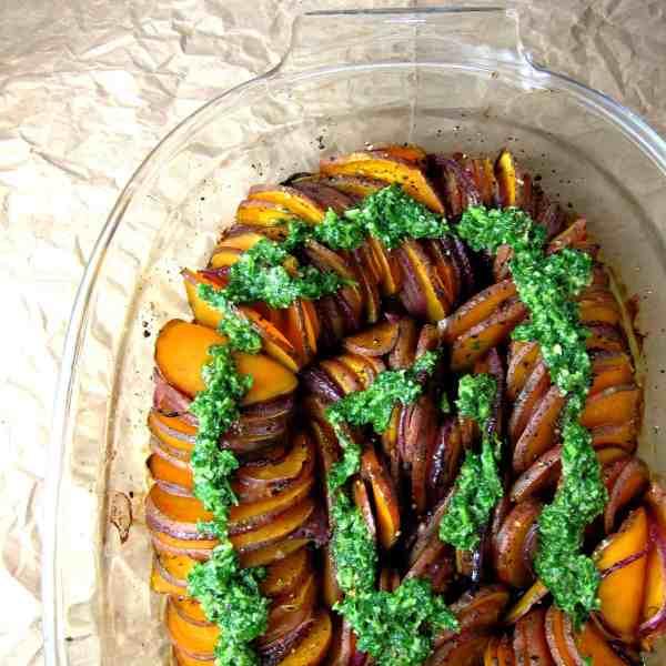 crispy sweet potato