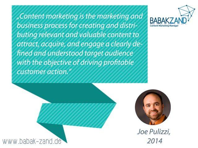 Zitat Content-Marketing von Joe Pulizzi