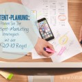 Content-Planung: Planen Sie ihr Content-Marketing strategisch mit der 70-20-10 Regel.