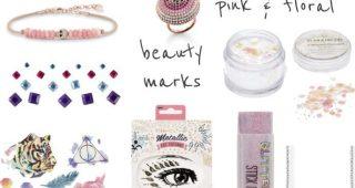 Inspiration: festival accessories - pink, beauty marks & boho
