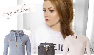 Collage Inspiration Sunday - cozy at home mit gemütlicher und kuschliger Homewear