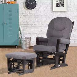 Small Of Glider And Ottoman Set
