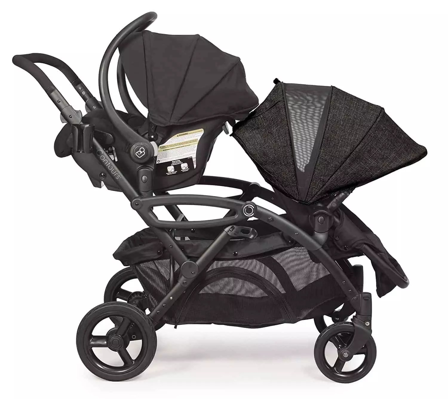 Exquisite Contours Options Elite Tandem Stroller One One Infant Seat Stroller Baby Bargains Contours Stroller Red Black Contours Stroller Review baby Contours Double Stroller