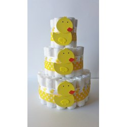 Thrifty Duck Diaper Cake Rubber Ducky Diaper Gift Gender Neutral Baby Gift Baby Shower Centerpiecllow Diaper Cake Gender Reveal Party Cheap Gender Neutral Baby Shower Invitations Diy Gender Neutral Ba baby shower Gender Neutral Baby Shower