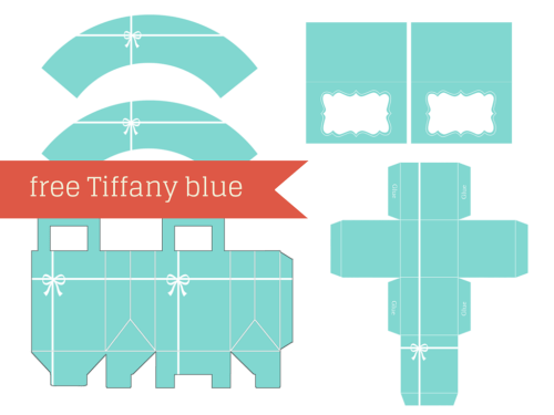 Free Tiffany Baby Shower Printable