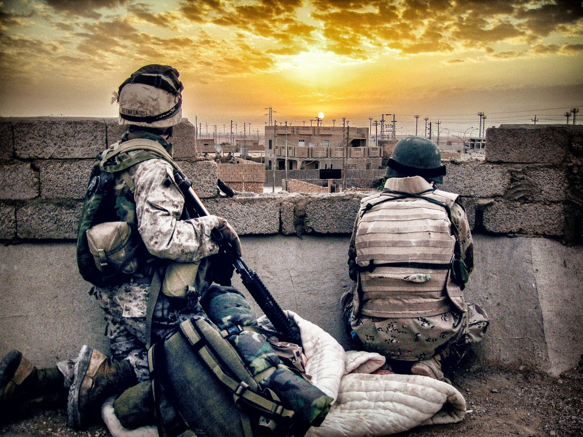 Back to Iraq, In A Way