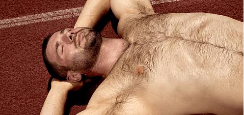 Hot Sweaty Ben Cohen