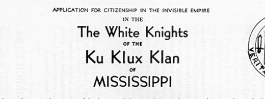 Mississippi Klan