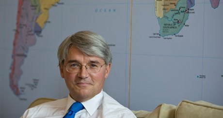 Andrew Mitchell, the development secretary. Photograph: Martin Argles for the Guardian