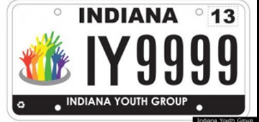Indianna Gay Plate