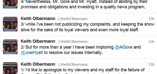 Olbermann Tweets