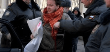 Gay Activist arrested in Russia