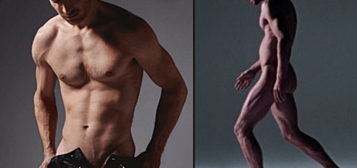 Michael Fassbender naked again