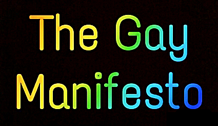 Michael Swifts The Gay Manifesto