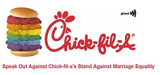 Chick-Fil-A GLAAD beg
