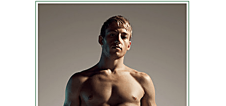 Matthew Mitcham naked
