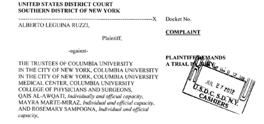 Alberto Leguina lawsuit
