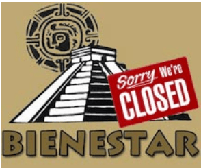 Bienestar closed