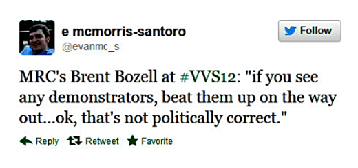Bozell bash