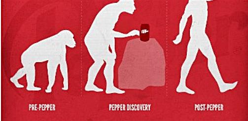 Dr Pepper Evolution Ad