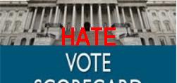Hate Vote Scorecard Family Research Center