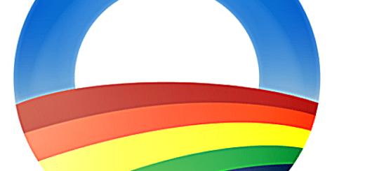 Oba,a Gay button