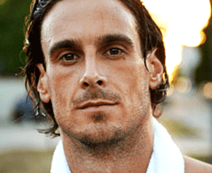 Chris Kluwe sweaty and handsome
