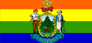 Gay Maine Flag