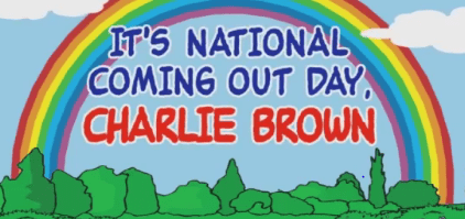Its National Coming Out Dat Charlie Brown