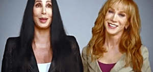 Cher and Kathy Griffin
