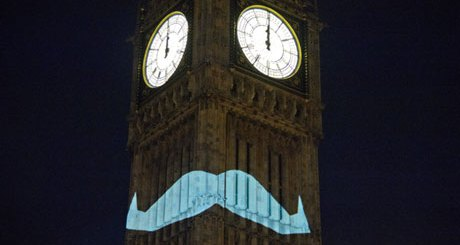 Movember Big Ben