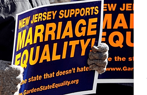 NJ gay marriage