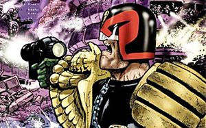 Judge Dredd is gay