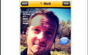 Matt Moore busted