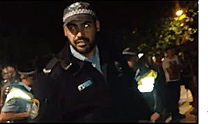 Gay Bashing Sydney Mardi Gras Police Officer