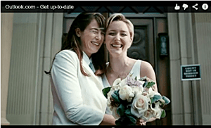 Microsoft Outlook Lesbian Wedding