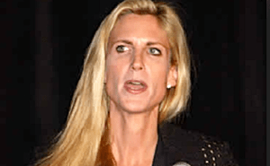 Ann Coulter uglky evil bitch