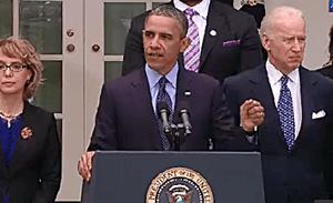 Obamas Gun Control speech